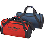 Roll Style Duffel with End Pockets