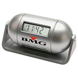 Capsule Desktop LCD Alarm Clock