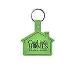 House-Shaped Key Tag