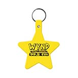 Star-Shaped Key Tag
