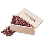 Chocolate Almonds in a Wood Box
