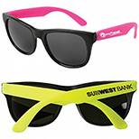 Neon Rubber Floating Sunglasses