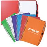 Academic Spiral Notebook & Pen Set