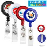 30 Round Retractable Badge Holder