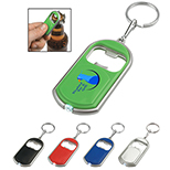 Flashlight Bottle Opener Key Chain Combo
