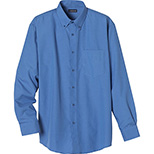 Men's Tulare Oxford Long Sleeve Shirt by Trimark