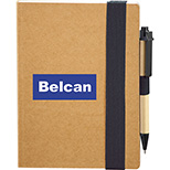 EcoSmart Bound Notebook with Pen