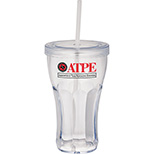 Sock Hop Tumbler and Straw - 16 oz.