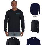 Gildan Ultra Cotton Classic Fit Adult Long Sleeve T-Shirt, 6 oz. - Colors