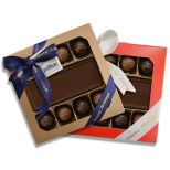 Custom Choc w/ 8 Truffles Gift Box