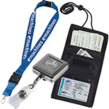 Trade Show Lanyards, Badgeholders & Buttons