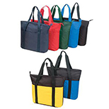 Large Zippered Multifunction Tote