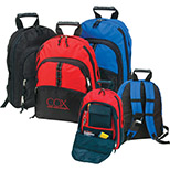 Expandable Two-Tone Backpack