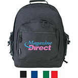 Backpack With Front Organizer