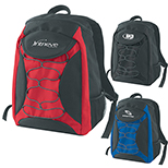 Mercury Backpack with Bungee Cords