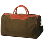 Resort Leather Trimmed  Duffel