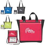 Trade Show Tote & with Badge Holder