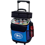 Dual Compartment 30 Can Rolling Cooler