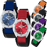 Unisex Canvas Band Sports Watch