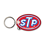 Oval-Shaped Soft Vinyl Key Tag