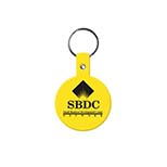 Circular Soft Vinyl Key Tag