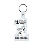 #1 Shaped Key Tag