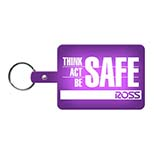Rectangular-Shaped Key Tag