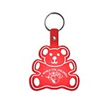 Teddy Bear-Shaped Key Tag