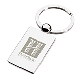 Rectangular Chrome Key Tag