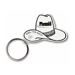 Cowboy Hat Key Tag
