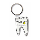 Tooth-Shaped Key Tag