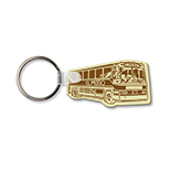 Soft Vinyl Bus Key Tag