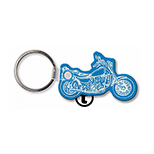 Motorcycle Key Tag