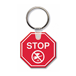 Stop Sign Key Tag