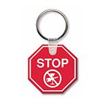 Stop Sign Key Tag