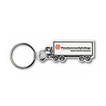 Semi Truck Key Tag