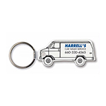 Van-Shaped Key Tag