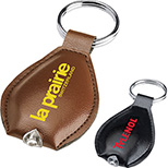 Leatherette Key Tag with Light