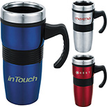 Stainless Steel 16 oz. Travel Mug