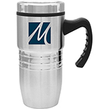 Polished Stainless Steel Travel Mug