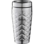 Steel Diamond Design Tumbler