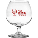 Clear 12 oz. Brandy Snifter