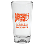 Basketball Bottom Mixing Glass