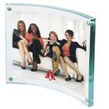 Curved Acrylic Frame