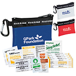 Frosty First Aid Kit with Carabiner