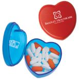 Heart-Shaped Pill Dispenser