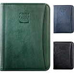 Durahyde Zippered Letter Size Padfolio