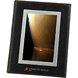 Bonded Leather Photo Frame
