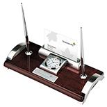 Mahogany Executive Desk Set