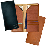 Calfskin Leather Travel  Wallet